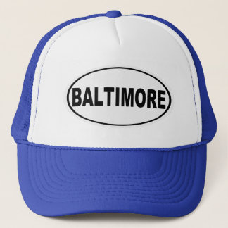 Baltimore Maryland Trucker Hat