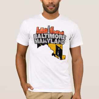 Baltimore Maryland Wire T-Shirt
