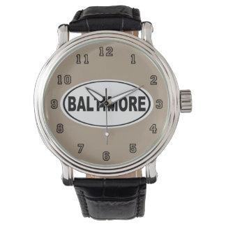 Baltimore Maryland Wrist Watches