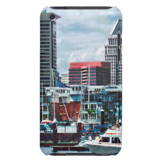 Baltimore MD - Baltimore Skyline at Charles River iPod Touch Cover