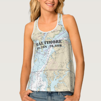 Baltimore MD Home Port Nautical Singlet