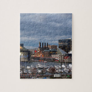 Baltimore Night Skyline Jigsaw Puzzle