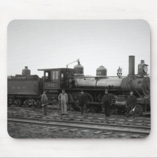 Baltimore & Ohio (B&O) Railroad Engine 932 Mouse Pad
