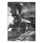 Baltimore & Ohio Railroad Steam Locomotive Greeting Card