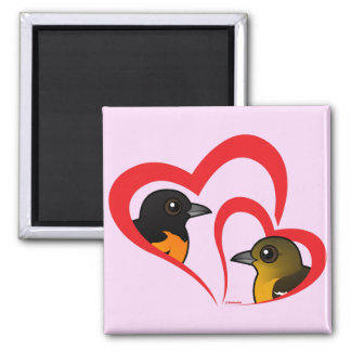 Baltimore Oriole Love Refrigerator Magnet