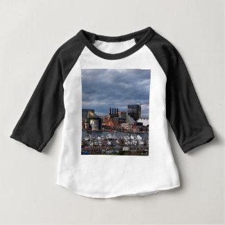 Baltimore Sundown Skyline Baby T-Shirt
