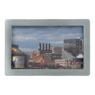 Baltimore Sundown Skyline Belt Buckles