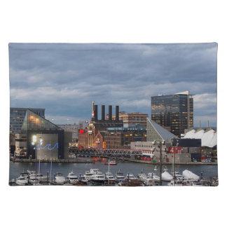 Baltimore Sundown Skyline Placemat