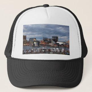Baltimore Sundown Skyline Trucker Hat