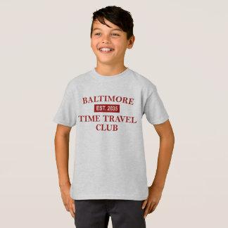 Baltimore Time Travel Club Kids' T-shirt