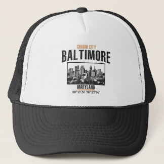 Baltimore Trucker Hat