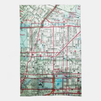 BALTIMORE Vintage Map Tea Towel