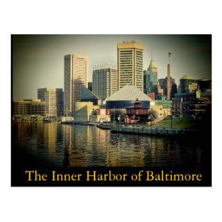 Baltimore's Inner Harbor Postcard