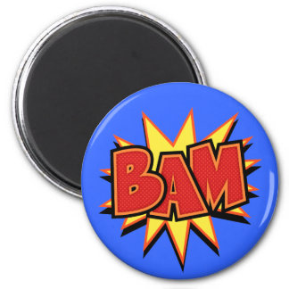 Bam-3 6 Cm Round Magnet