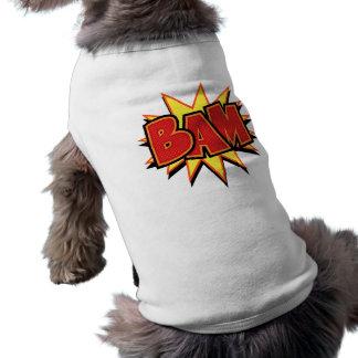 Bam-3 Sleeveless Dog Shirt