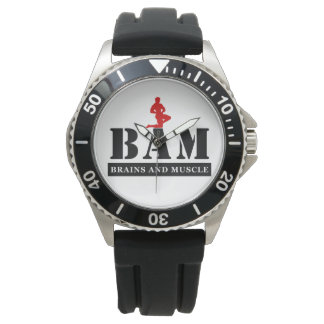 BAM Brains & Muscle Bodybuilding Watch