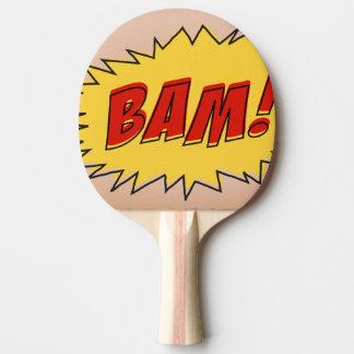 bam ping pong paddle