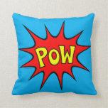 Bam! Pow! Pillows