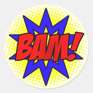 BAM! Sticker Sheet