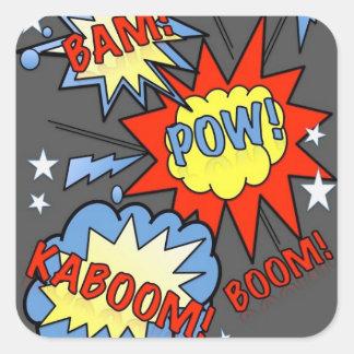 BAM! Vintage Comic Sticker 2