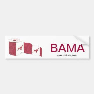 """""""BAMA"""" Bumper Sticker"""