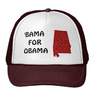 'BAMA FOR OBAMA CAP