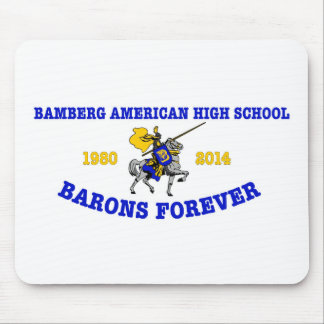 Bamberg High School 1980-2014 Mouse Pad