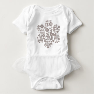 Bambi and Woodland Creatures Baby Bodysuit