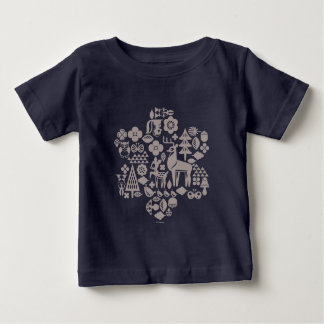 Bambi and Woodland Creatures Baby T-Shirt