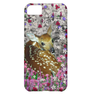 Bambina the Fawn in Flowers II iPhone 5C Case