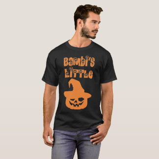 Bambis Little Pumpkin Halloween T-Shirt