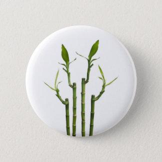 Bamboo 6 Cm Round Badge