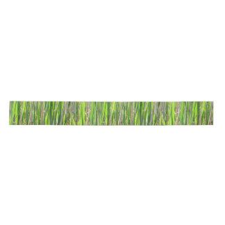Bamboo Against the Sun Satin Ribbon