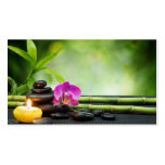 Bamboo and Candle Therapy Pack Of Standard Business Cards