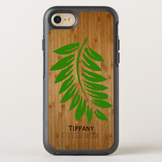 Bamboo and Fern Leaf iPhone 7 Otterbox Case