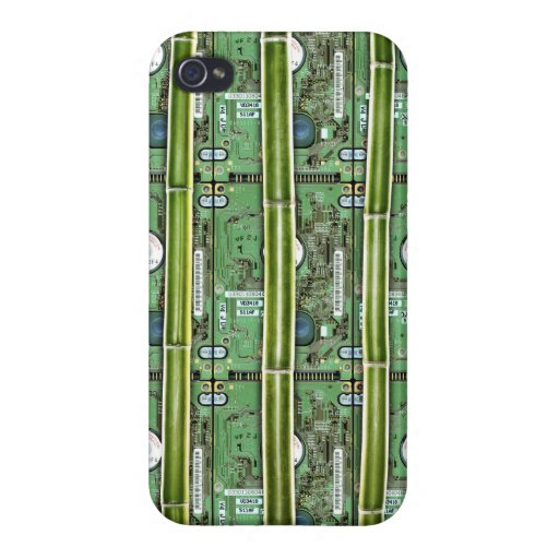 Bamboo and Hard Drives iPhone 4/4S Case