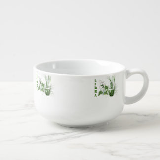 Bamboo and Lily Libra Soup Mug