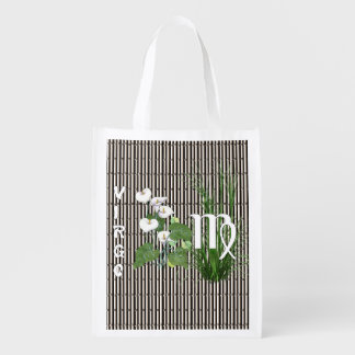 Bamboo and Lily Virgo Reusable Grocery Bag