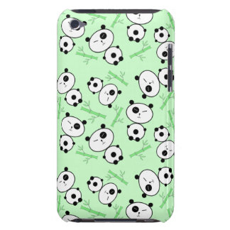 Bamboo and Panda Pattern iPod Touch Cases
