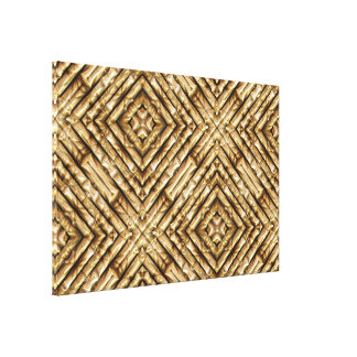 Bamboo Art 1 Wrapped Canvas Canvas Prints
