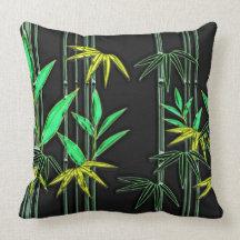 Bamboo Art 3 Pillows