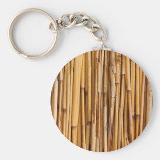 Bamboo Background Key Ring