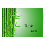 Bamboo Background, Thank, You Card