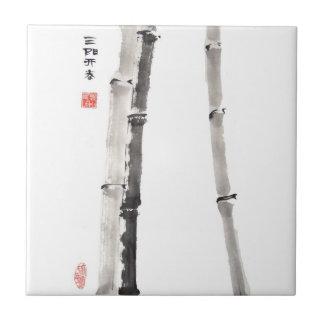 Bamboo Blessing Tile