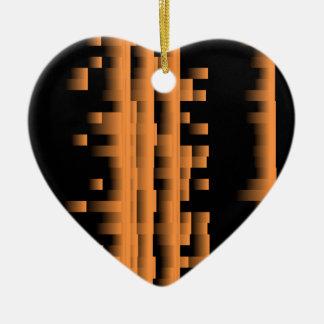 Bamboo Ceramic Heart Decoration