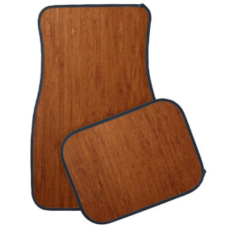 BAMBOO DARK CAR MAT