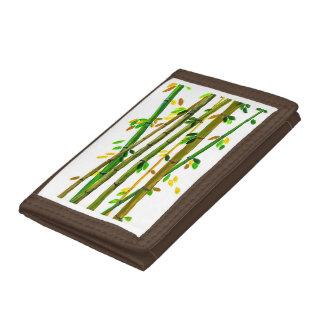 Bamboo design wallet