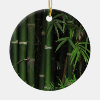 Bamboo ... Fao Rai, Nong Khai, Isaan, Thailand Round Ceramic Decoration
