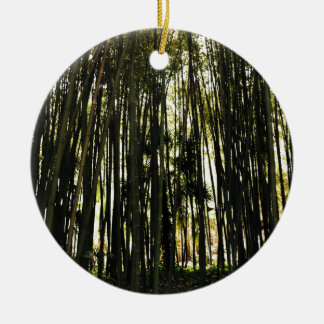 Bamboo Forest Ceramic Ornament