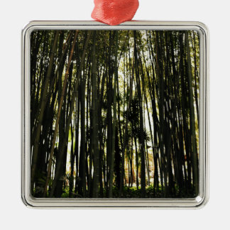 Bamboo Forest Metal Ornament